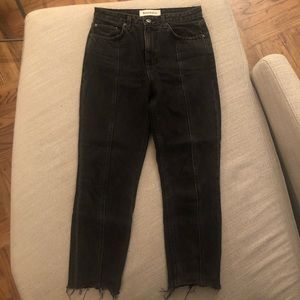 Reformation seamed Jeans 28